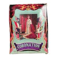 Vintage Queens Coronation jigsaw puzzle, c1950s