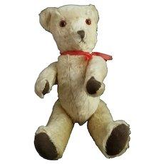 Vintage c1950s golden mohair Teddy bear, Bell ear