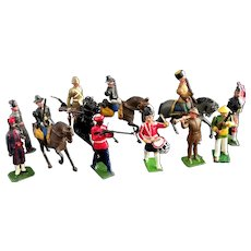 Vintage lead soldiers collection, mixed