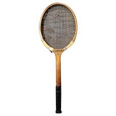 Vintage 1930's Tennis racket, William Sykes