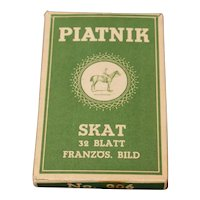 Vintage Piatnik Skat card game