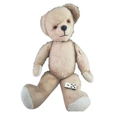 Large vintage Pedigree Teddy bear with growler