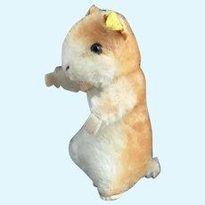Vintage Steiff Goldy hamster plushie