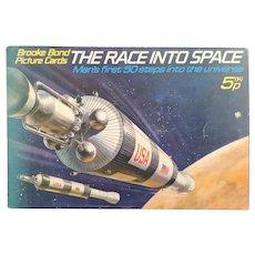 Vintage Brooke Bond album, The Race into Space