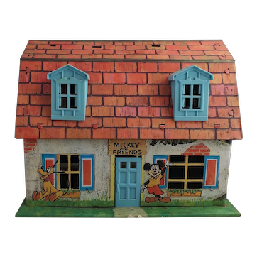 Vintage Marx toys Mickey Mouse house