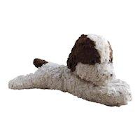 Vintage 1930s stuffed dog toy