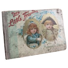 My little friends an autograph book, Victorian
