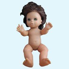 Vintage 1960s sleepy eye doll, girl