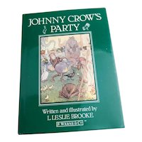 Johnny Crow's Party, Leslie Brook, vintage book