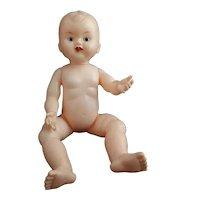 Vintage plastic OK Kader doll, sleepy eye, moving tongue
