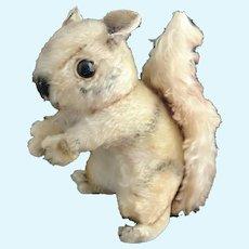 Vintage Steiff squirrel plushie, stuffed animal