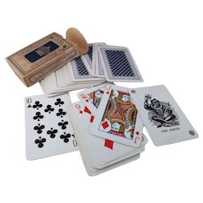 Vintage 40s De La Rue, Crown playing cards