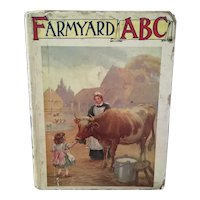 Antique Farm Yard ABC book, c1900