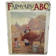 Antique Farm Yard ABC book, c1900