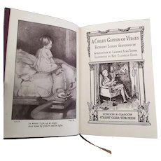 A Child's Garden of Verses, antique book