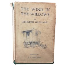 Vintage Wind in the Willows book, 1930's