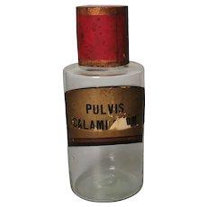 Antique Apothecary bottle, large chemists