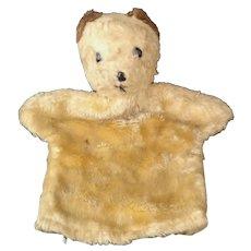 Vintage 1950's Teddy bear puppet