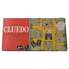 Vintage Cluedo board game