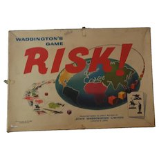Vintage Risk board game, c1960s