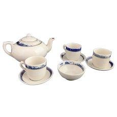 Antique Victorian childs tea set