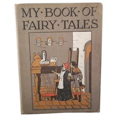 My Book of Fairy Tales, Antique childs book