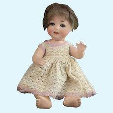 Vintage bisque head baby doll, Heubach Koppelsdorf, 300-0