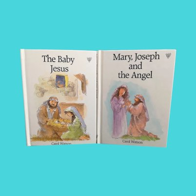 Vintage Childrens Christmas books