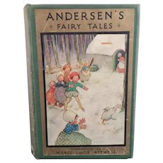 Andersens Fairy Tales, 1920's, childs book