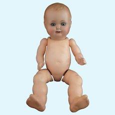 Vintage composite baby doll, Hugo Wiegand