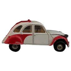 Vintage Corgi Citreon 2CV6 die-cast car