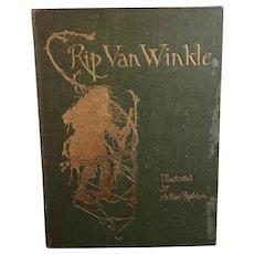 Rip Van Winkle, 1905, Arthur Rackham illustrations