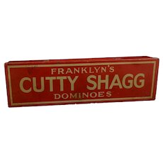 Rare vintage 1930s tinplate dominoes