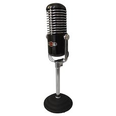 Art Deco Modernist Microphone