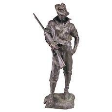 U.S. Rough Rider Bronze. Allen George Newman35 (1875-1940).