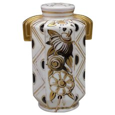 Nice Antique Porcelain Perfume Lamp