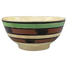 Mocha Creamware Bowl