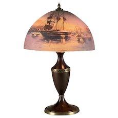 Beautiful Pairpoint Handpainted Table Lamp