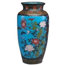 Antique Large Chinese Cloisonne Vase