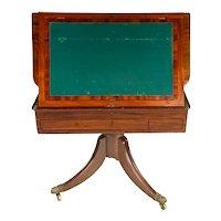Fine & Rare Irish Mahogany Architect's Table by Miller & Beatty