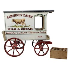 Alderney Dairy Schoenhut Milk Wagon