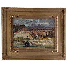 """Western Landscape""  by Alson Skinner Clark (American 1876-1949)"
