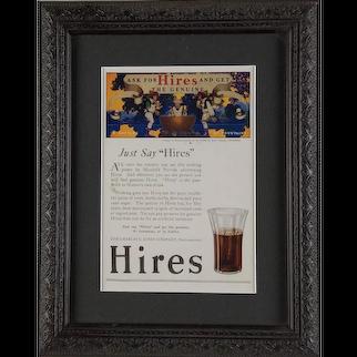 Hires Root Beer Advertisement