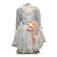Antique styled doll dress