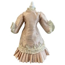 Silk doll dress for small doll (doll house size)?