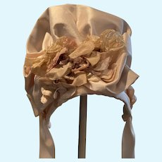Soft Silk hat with decoration - to match item #248