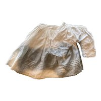 Antique white slip and pantalettes (matching)