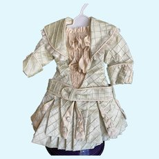 French 2 piece silk outfit