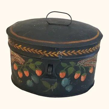 Toleware Pantry box