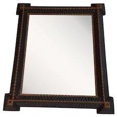 American Folk Art...Tramp Art Mirror